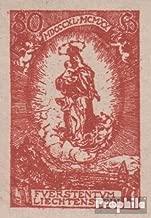Liechtenstein 41U ungezähnt 1920 Birthday Johann II (Stamps for Collectors)