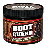 Boot Guard Leather Dressing: Restores and Conditions Leather Boots, Shoes, Automotive Interiors, Jackets, Saddles, and Purses 5 Ounce Jar