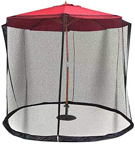 Sonnenschirm Moskitonetz Netto-Abdeckung, Haushalt im Freien Garten Regenschirm Tischgarn Insektensicherer Regenschirm Cover Patio Tisch Regenschirm Garten, Gebraucht für Patio Garten Outdoor Camp