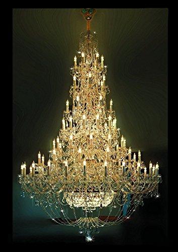 Bohemia Lámpara de araña de cristal.