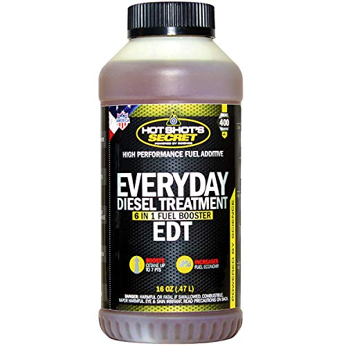 Hot Shot's Secret - HSSEDT16Z Everyday Diesel Treatment - EDT 16 oz Round - Treats up to 400 Gallons