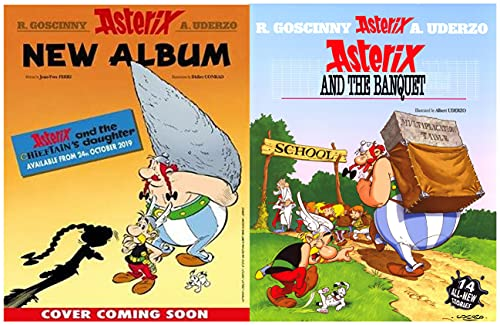 The Adventures of Asterix: Issue 5 Asterix And The Banquet (English Edition)