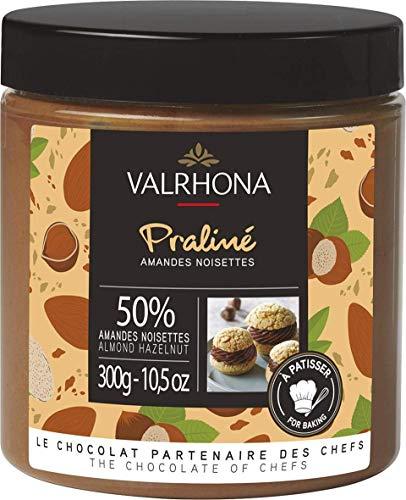 Valrhona - Mandel-Haselnuss-Praline 50% (300g)