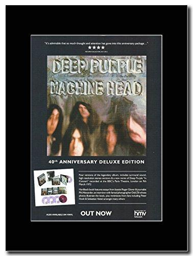 Deep Purple - Machine Head 40th Annerversary Edition .Promo Magazine sur un Mont Noir