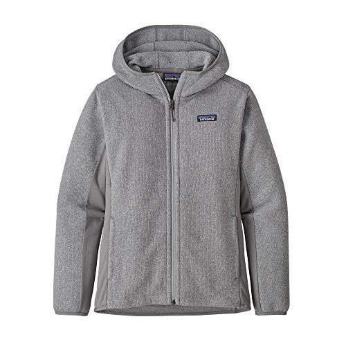 Patagonia Damen W's Lw Better Sweater Hoody Sweatshirt, Erika-Grau, L
