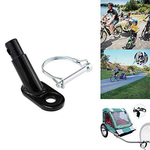 Check Out This Powstro Steel Hitch, Bicycle Trailer Hitch, Steel Coupler Practical Trailer Steel Hit...