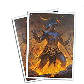 Aggamon - Lord of Hatred - 100 Matte Card Sleeves (FN14S)