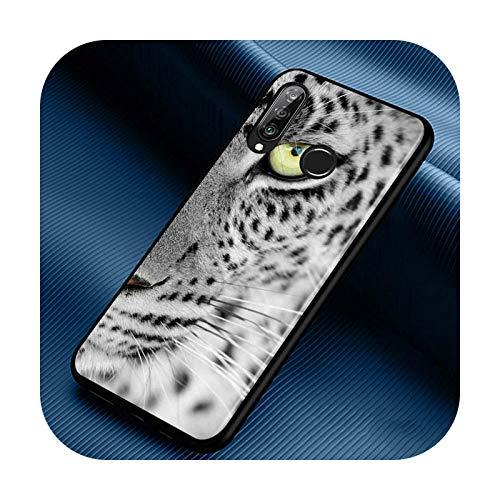 Phone cover Funda de silicona para Huawei P30 P20 P40 Lite E Pro P Smart Z Plus 2019 P10 P9 Lite, color negro, estilo 02 para Huawei P40