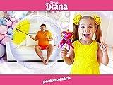 Diana's Magic Pink Hairbrush!