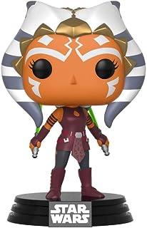Funko Pop Star Wars: Clone Wars - Ahsoka Tano Collectible Figure, Multicolor