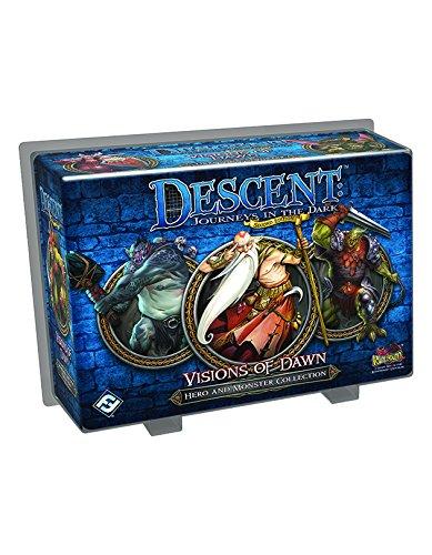Fantasy Flight Games - Descent Journeys im Dunkeln 2. Ausgabe - Visionen der Dämmerungserweiterung (englisch)