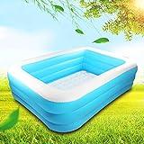 Piscina inflable, piscina familiar de tamaño completo para niños, niños pequeños, niños y adultos, al aire libre, jardín, fiesta de verano del agua C