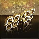 ROIRETNI ソリドゥスゴールド24K純金メッキLED壁掛け時計スタンドパッケージ
