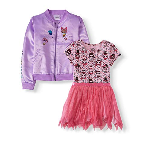 L.O.L. Surprise! Jacket and Tutu Dress for Girls Sizes 4-16 (X-Small...