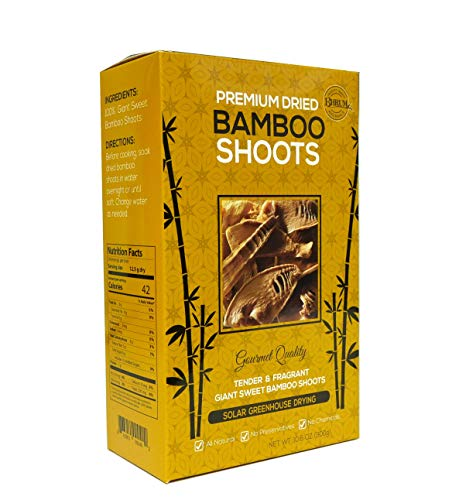 Premium Dried Bamboo Shoots - Giant sweet bamboo shoots