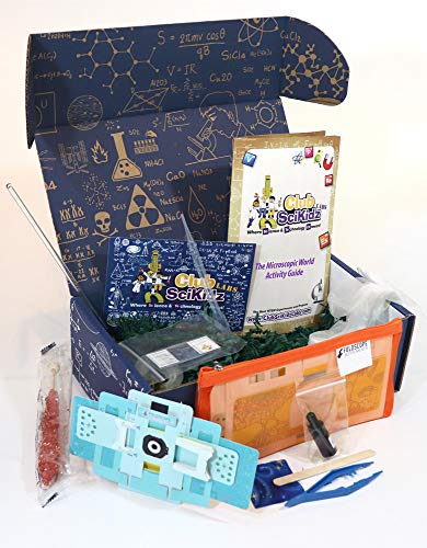 Club SciKidz STEM Box The Microscopic World- Science Kit for Kids