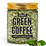 YOGAFY- Organic Green Coffee Beans - 300 Gram | For Weight Loss Management and Detox | AAA Grade...