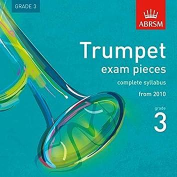 Trumpet Exam Pieces from 2010, ABRSM Grade 3