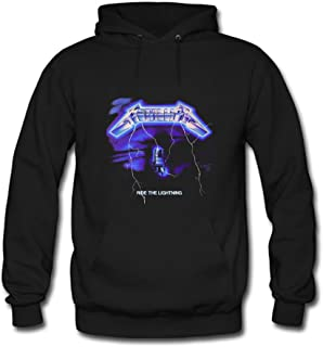 Metallica Ride Lightning For Men Printed Sweatshirt Pullover Hoody