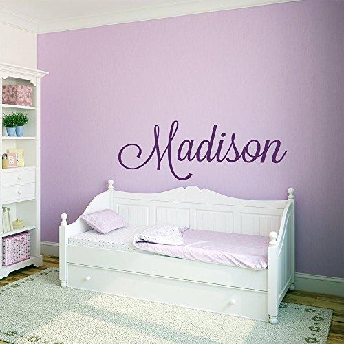 Custom Name Vinyl Wall Decal Sticker Art for Girls