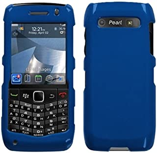 MyBat Blackberry 9100 Solid Phone Protector Cover - Retail Packaging - Dark Blue