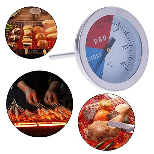 cuffslee Thermometre Barbecue avec Sonde Surface Imperméable Sûre Et Respectueuse De l'environnement Thermometre Cuisson