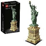 LEGO 21042 Architecture Estatua de la Libertad de Nueva York Set de Construcción, Modelo de Coleccionista, Maqueta Decorativa