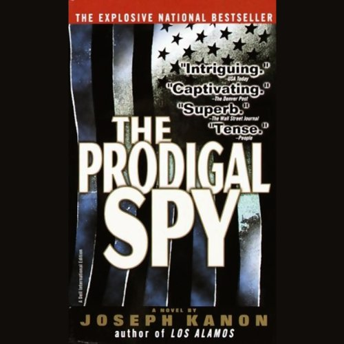 The Prodigal Spy audiobook cover art