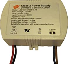 350mA Dimmable Constant Current 16.8W DC LED Driver UL Approved
