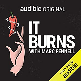 It Burns audiobook cover art