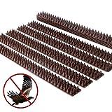 AYITOO 10 Pezzi Repellente per Uccelli Spikes, Pesticidi per Uccelli, Allontanamento Gatti...