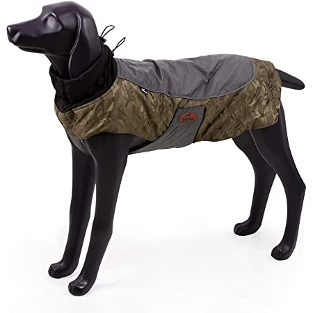 BlackDoggy Full Coverage Waterproof Raincoat Jacket with Breathable Material and Reflective Stripe Large, Purple