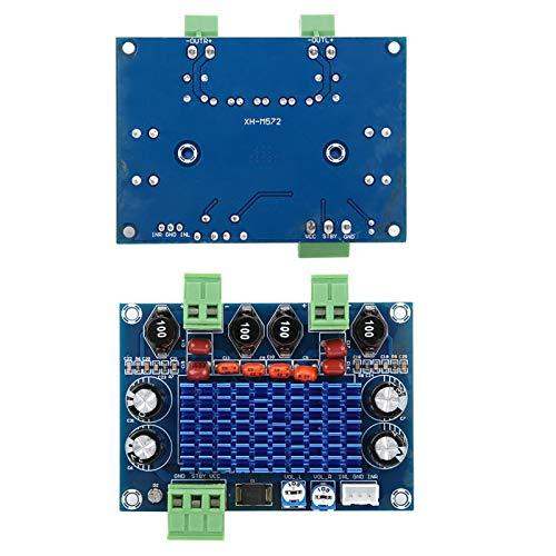 Aoutecen Placa de Aumento Placa amplificadora de Audio XH-M572 de Alta eficiencia DC 8-28 V para Control