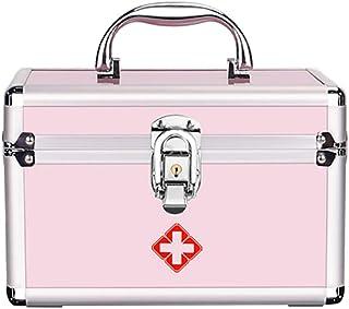 Boîte De Rangement Verrouillable De Médecine De Serrure De Sécurité De Trousse De Premiers Soins avec La Poignée Portative...