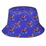 XCNGG Cappello da Pescatore Moda Unisex Cappello Estivo da Pescatore Patatine Fritte Formaggio Ricotta Cappello da Sole Cappello da Pescatore per Uomo Donna