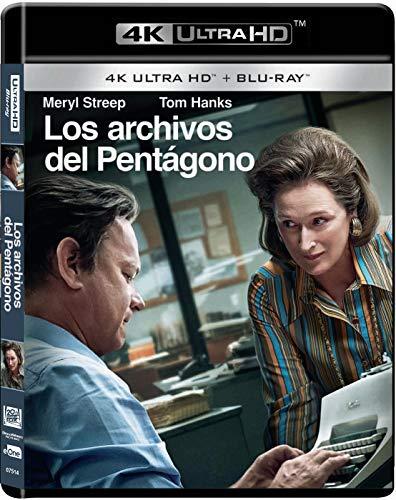 Los Archivos Del Pentagono..Bluray + Uhd 4k [Blu-ray]