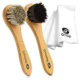 Best Shoe Polishing Kits - 3pc Shoe Shine Kit - Shoe Brush Review