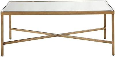 Amazon.com: WE Furniture - Mesa de centro, Madera: Kitchen ...
