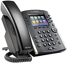 Polycom VVX 410 12-Line Desktop Phone (Power Supply Included) (Renewed)