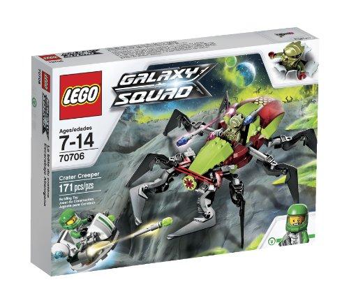 LEGO Galaxy Squad Crater Creeper 171pieza(s) Juego de construcción - Juegos de construcción (Multicolor, 7 año(s), 171 Pieza(s), 14 año(s))