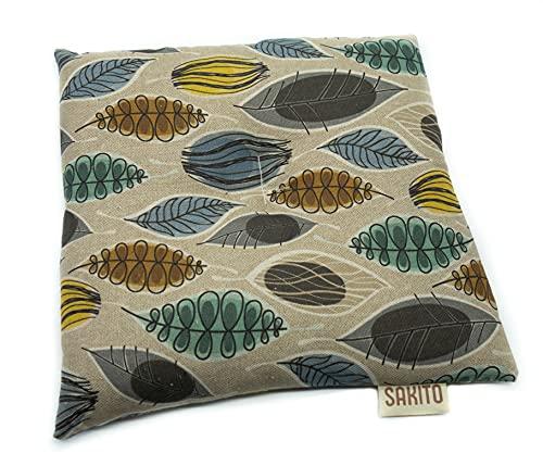 Bolsa de Semillas Microondas de Trigo y Lavanda Forma Cuadrado   25x25 cm   Frío y Calor