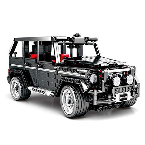 Technic Offroader Building Blocks, Technic Offroad Car G500 AMG Model Kit De Construcción, 1343 Piezas Bloques Compatibles con Lego, El Modelo De Construcción No Es Creado por Lego