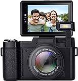 Digital Camera,24.0 MP Night Vision Camcorder 3.0 Inch 180°rotating screen Camera Vlogging Camera