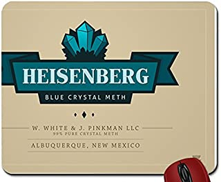 B Abstract green tv blue drugs design cooking breaking bad meth advertisement new mexico tv series walter whitemouse pad computer mousepad