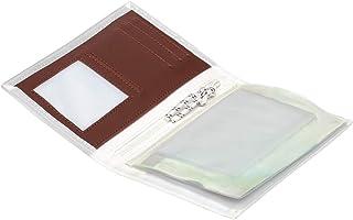 Trend Marine Sea Licence Brieftasche, Weiß/Rot aus Segeltuch