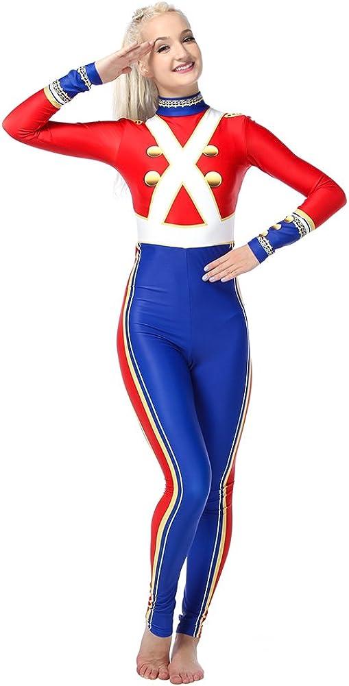 激安卸販売新品 Women's Girl's Toy Soldier Holiday Full Costu Dance Body Unitard お得なキャンペーンを実施中