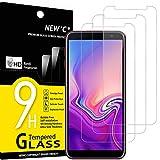 NEW'C 3 Unidades, Protector de Pantalla para Samsung Galaxy J6 Plus (2018), Antiarañazos,...