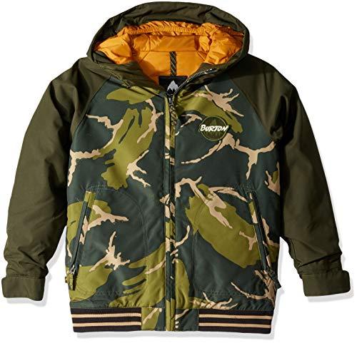 バートン スノーボードウェア ジャケット ジュニア Boys' Game Day Jacket 130421 MTN CAMO M(1...
