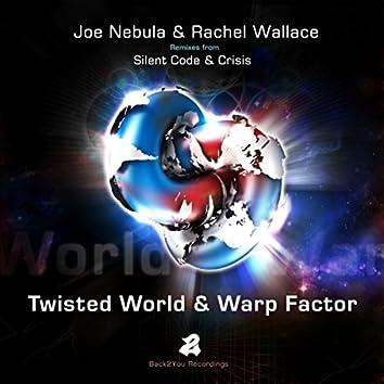Twisted World & Warp Factor