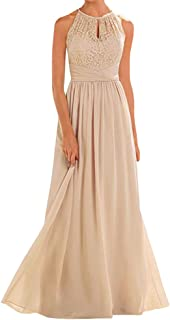 Best champagne colored chiffon bridesmaid dresses Reviews